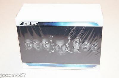 STAR TREK THE MOVIE (2009 Theatrical Release) COMPLETE CARD SET w/ Chris Pine