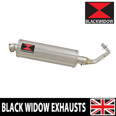 Piaggio ZIP 125 2000 - 2004 Stainless Steel Exhaust System Silencer 400SS