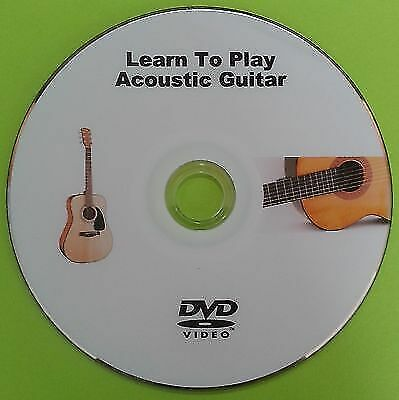 Learn To Play Acoustic Guitar DVD Tutorial Lessons