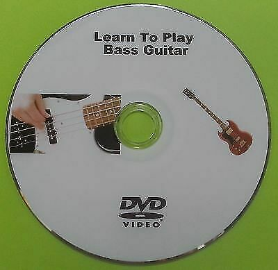 Learn How To Play Bass Guitar Tutorial Instruction DVD