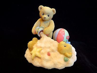 Cherished Teddies Forever Friends Playing in the Sand Jim & Joey 203513