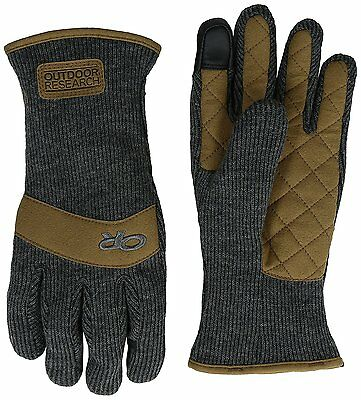 Outdoor Research Exit Sensor Gloves, Charcoal, Medium