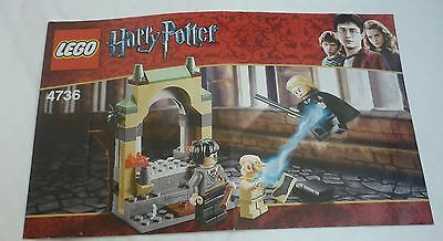 Lego Harry Potter 4736 - Freeing Dobby - INSTRUCTIONS ONLY