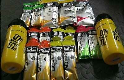 SiS Science in Sport Bundle Energy Gels Bars Sachets Recovery Sachet + 2 Bottles