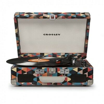 Crosley Cruiser II Record Player Turntable with Battery Music System - Triangle
