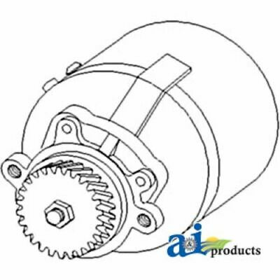 A-E8NN3K514BA Ford Tractor Power Steering Pump 3230 ; 3430 ; 3930 ; 3930H ; 3930