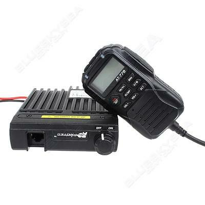 25W 512CH VHF Band 136-174MHz 2-Way Intercom Wired Control Mic Mobile Radios