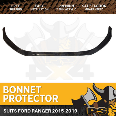 Bonnet Protector for Ford Ranger PX MK II 2015 2016 2017 MK 2 Tinted Guard