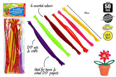 50pc Fluoro Pipe Cleaners