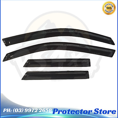 Superior Window Visors for Ford Territory 2004-2015 Weathershields guard