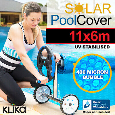 APPROVED 11 x 6 UV STABILISED SOLAR SWIMMING POOL COVER BUBBLE BLANKET