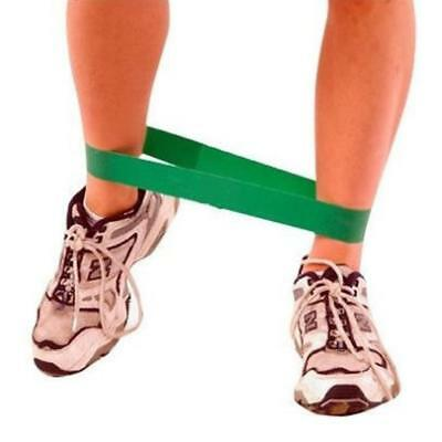 GREEN Cross Training RESISTANCE LOOP Band Pilates Yoga Exercise Gym 40lb