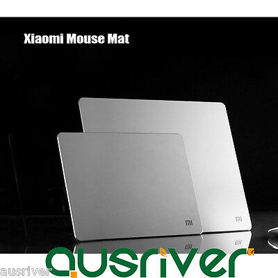 New Xiaomi Metal Aluminum Alloy Silver Gaming Mouse Mat Pad Mousepad Large/Small