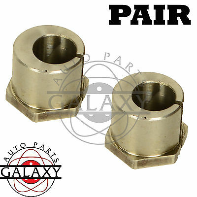 Brand New Complete Front Alignment Caster/Camber Bushing Pair For Ford Mazda