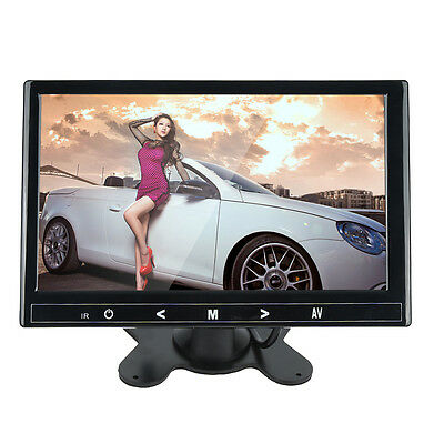"""9"""" TFT LCD Car Touch Button Headrest Monitor MP5 USB SD Player HD 800x480"""