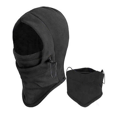 Unisex Thermal Fleece Balaclava Outdoors Ski Bike Wind Stopper Face Mask Comfy