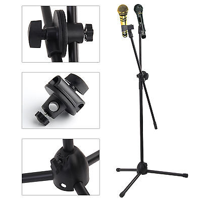 Portable High Quality Professional Boom Microphone Mic Stand Holder Adjustable
