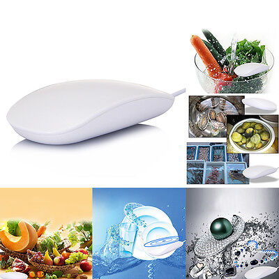 leeHUR Portable Ultrasonic Clothes Washing Machine Vegetables Cleaning Tools