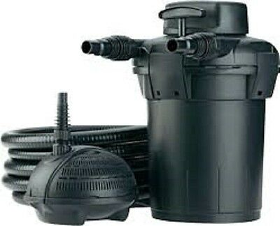 Pontec PondoPress 10000 Pressurised Pond Filter and Pump Set