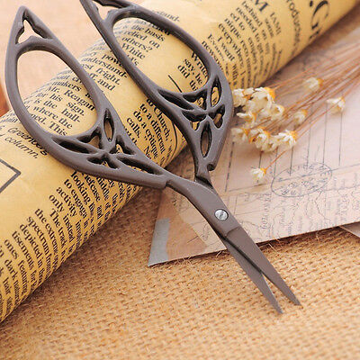 Retro Vintage Classical Metal Stainless Steel Cross Stitch Embroidery Scissors
