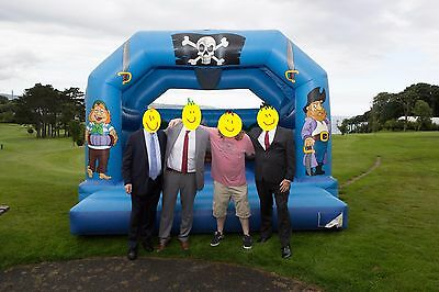 15ft X 15ft Professional Pirate Themed Bouncy Castle