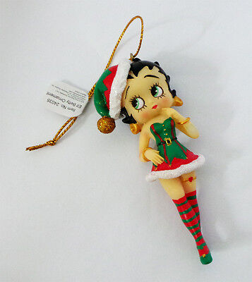 Betty Boop - betty Elfo Albero Di Natale/Decorazioni Da Appendere, 8.9cm (24035)