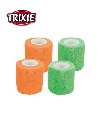 Trixie 4 8 Or 12  Dog Horse Pet Wound Bandage Vet Self Adhesive  Plaster 4.5 Mtr