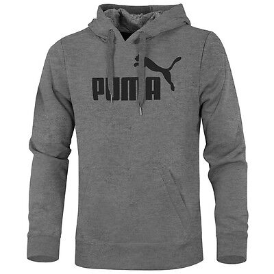 Puma ESS No.1 Logo Hooded Sweat FL Hoodie Essential Kapuzen Pullover 831870-03