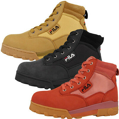 fila grunge l mid women outdoor schuhe boots damen stiefel. Black Bedroom Furniture Sets. Home Design Ideas