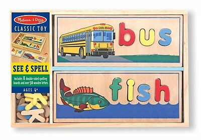 Melissa & Doug 12940 See and Spell Toy