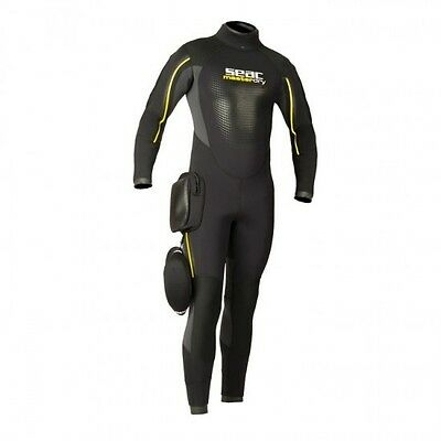 Seac Masterdry Semi-dry Wetsuit Lady 7 mm 04US