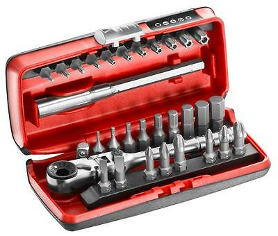 Ratcheting Screwdriver /& Bit Set Expert By Facom E160804 59Pce