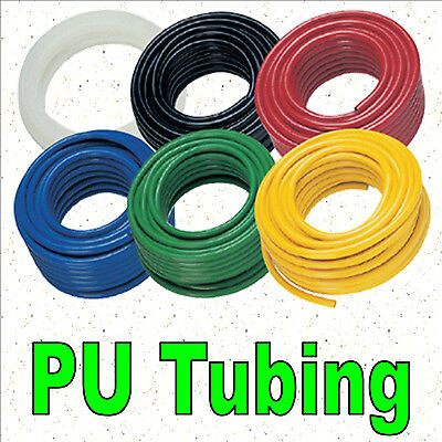 3mm/4mm/5mm/6mm PU Polyurethane Flexible Air Tubing Pneumatic Pipe Tube Hose 1m