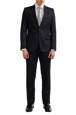 Versace Collection Wool Gray Two Button Men's Suit Sz 36 38 40 42 44 46
