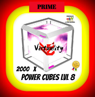 INGRESS 2000 POWER CUBES PC8 Lvl 8 LEVEL 8 L8 niantic also burster for sale