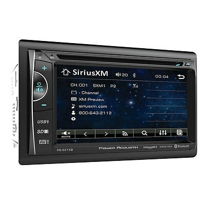 """Power Acoustik PD-621XB 2-DIN 6.2"""" LCD Sirius/XM Ready Stereo with Bluetooth V3"""