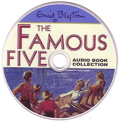 Enid Blyton Famous Five - 21 Complete Story Audio Book Collection Audiobooks DVD