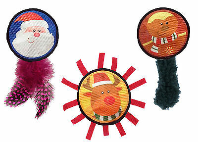 Cat Circus Christmas Funny Faces Cat Toy