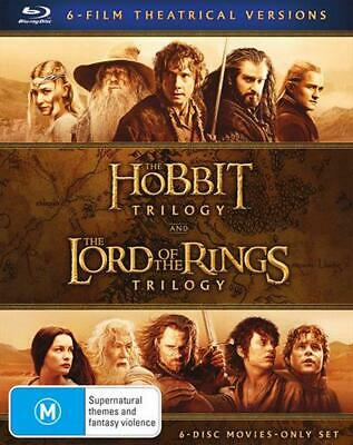 Middle Earth Collection: The Hobbit Trilogy & The Lord of the Rings Trilogy - Bl