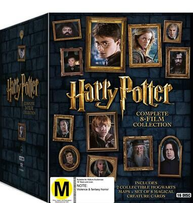 Harry Potter: Complete 8-Film Collection - DVD Region 4 Free Shipping!