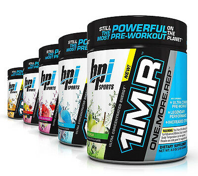 BPI Sports NEW 1.M.R Ultra Concentrated Pre-Workout Energy & Focus (30 Servings)