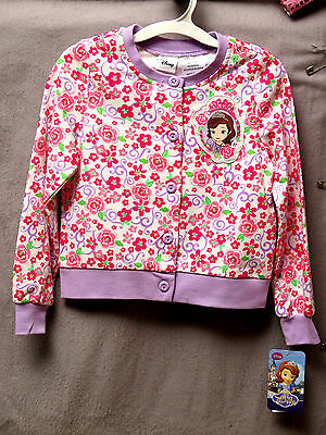 Disney Sofia Light Weight Toddler Jacket Sizes 2T to 5T BNWT Super, super cute!!
