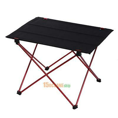 Lightweight Aluminum Alloy Portable Folding Table Furniture Camping Outdoor