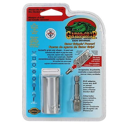 Hand Tools Gator Grip Universal Socket Wrench 7-19mm/11-32mm+Power Drill Adapter