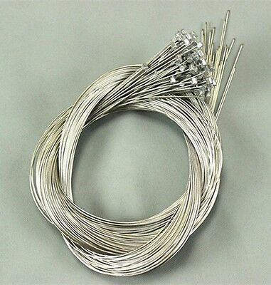 10pc MTB Mountain Bike Bicycle Cycle Brake Inner Cable Core Wire Line Barrel End