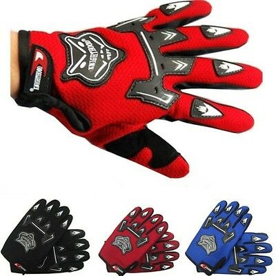 Bike Cycling Full Finger Gloves BMX MTB Road Mountain Motorcycle Bicycle Riding
