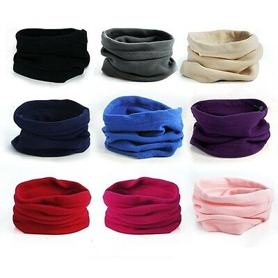 Polar Fleece Ski Snowboard Snow Balaclava Neck Warmer Scarf Snood Face Mask Hats