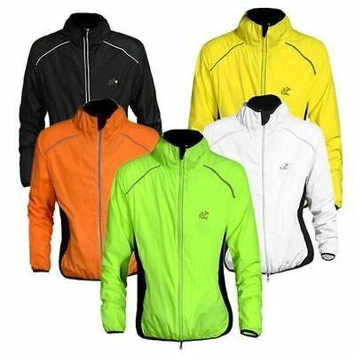 Quick dry Bike Bicycle Cycling Jacket Riding Jersey Windproof Wind Rain Coat Top