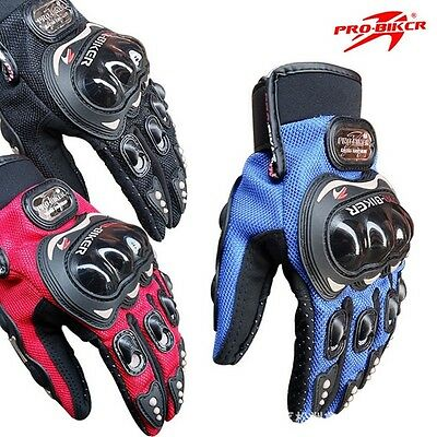 Motorbike Motorcycle Race Cruiser Gloves Off Road Dirt Bike Knuckle Protection