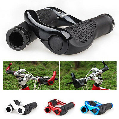 Ergo MTB Mountain Bike Bicycle Cycling Lock-on Handle Bar Ends Handlebar Grips